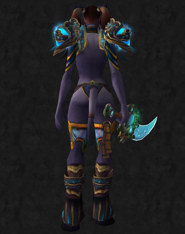 Shoulders lightning emperor s shoulderguards
