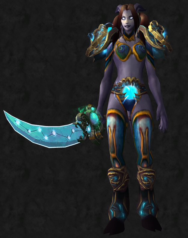Custom Vanguard Set (front) & Sexy Custom Transmog Sets \u2013 Paladin (Part 1) | Chloé Plays WoW